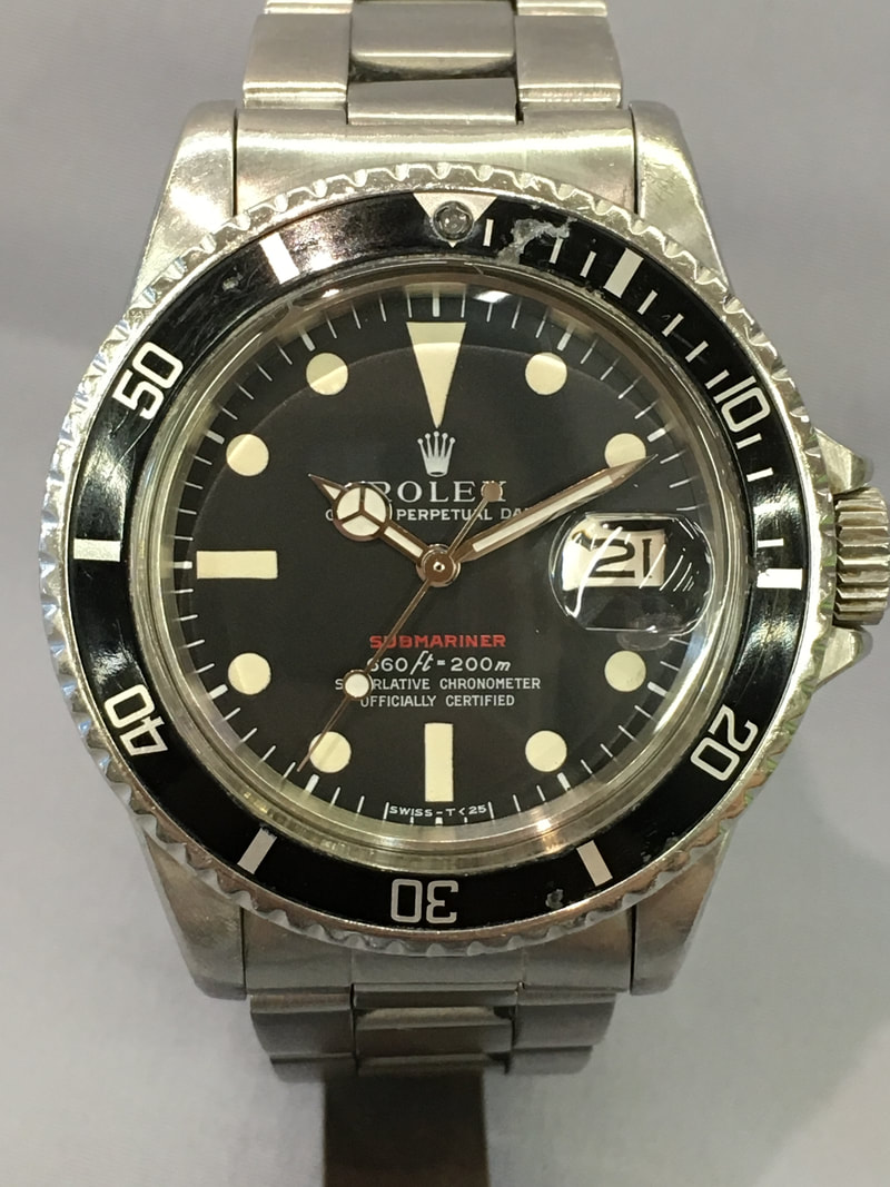 Rolex Red Submariner Ref 1680